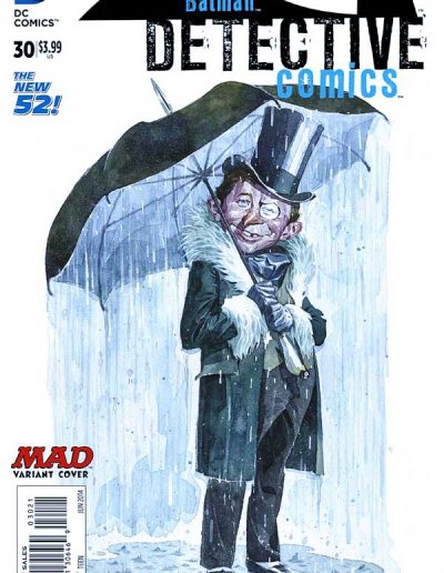 Detective Comics (Vol 2) #30 Mad Magazine Variant - June 2014