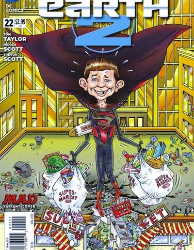 Earth 2 #22 Mad Magazine Variant - June 2014