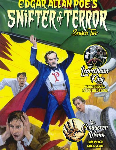 Edgar Allan Poe's Snifter of Terror (Season Two) #2 - November 2019
