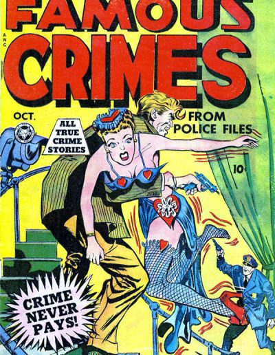 Famous Crimes #3 - October 1948