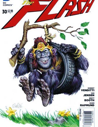 Flash (Vol 4) #30 Mad Magazine Variant - June 2014