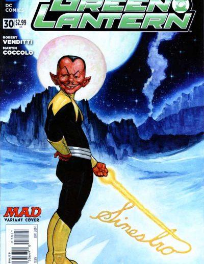 Green Lantern (Vol 5) #30 Mad Magazine Variant - June 2014