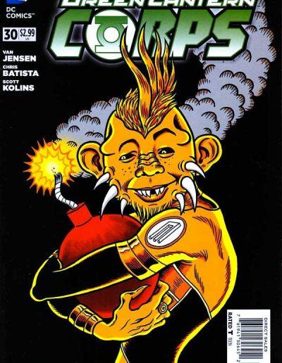 Green Lantern Corps (Vol 4) #30 Mad Magazine Variant - June 2014