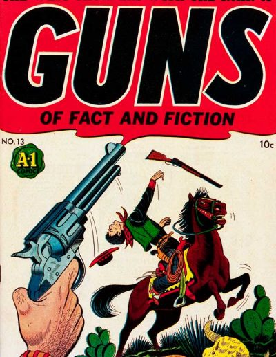 Guns of Fact and Fiction #13 - June 1948