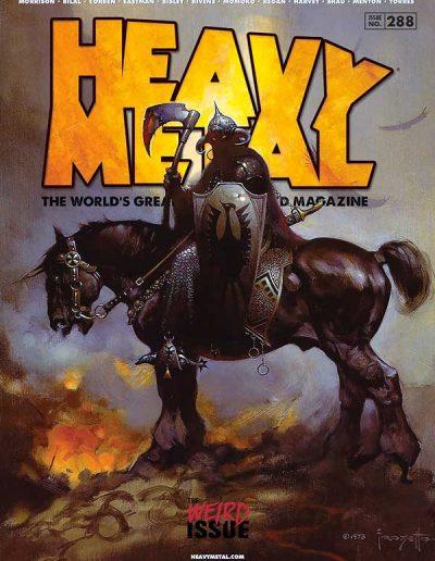 Heavy Metal Magazine #288 - November 2017