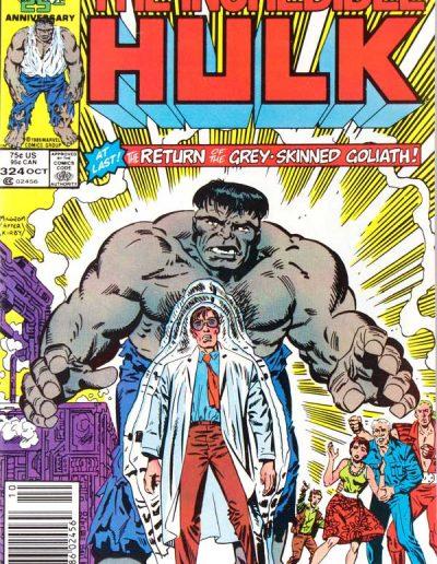 The Incredible Hulk #324 - October 1986