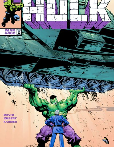 The Incredible Hulk #462 - March 1998