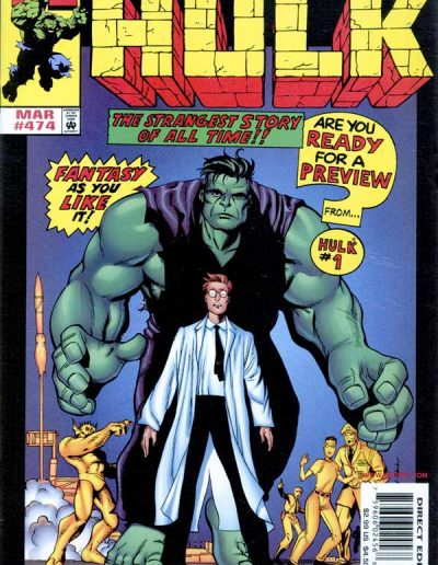 The Incredible Hulk #474 - March 1999