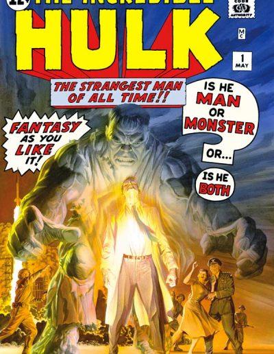 The Incredible Hulk Omnibus (Alex Ross Cover) - June 2008
