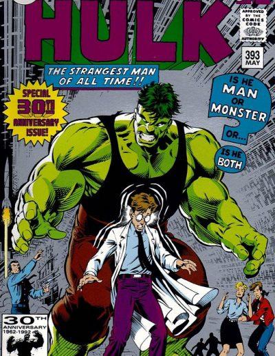 The Incredible Hulk #393 (2nd Printing) - May 1992