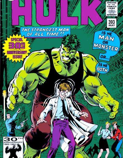 The Incredible Hulk #393 - May 1992