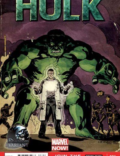 Indestructible Hulk #1 (Phantom Variant) - January 2013