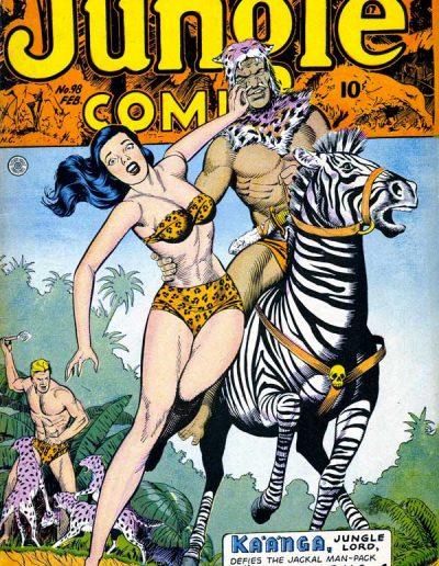 Jungle Comics #98 - February 1948