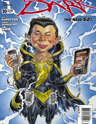 Justice League Dark #30 Mad Magazine Variant - June 2014