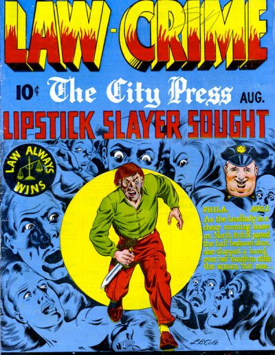 Law Against Crime #3 - August 1948