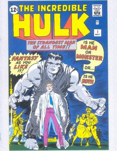 Marvel Milestone Edition: Hulk #1 (JC Penney Vintage Pack) - 1992