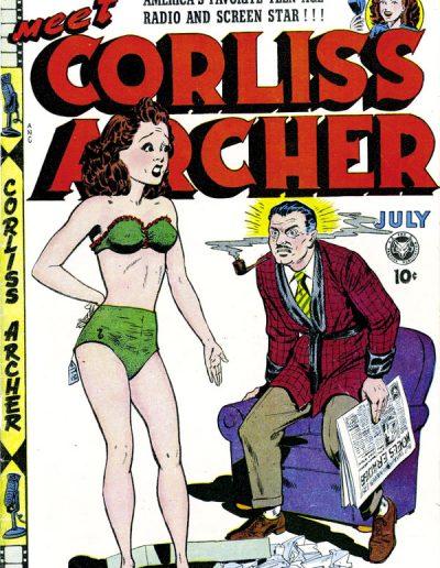 Meet Corliss Archer #3 - July 1948