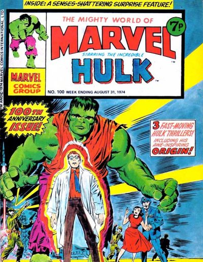 The Mighty World of Marvel #100 - August 1974