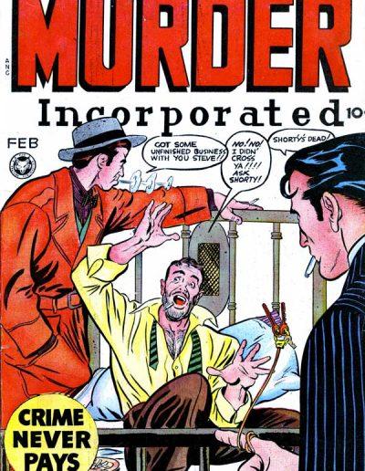 Murder Incorporated #8 - February 1949