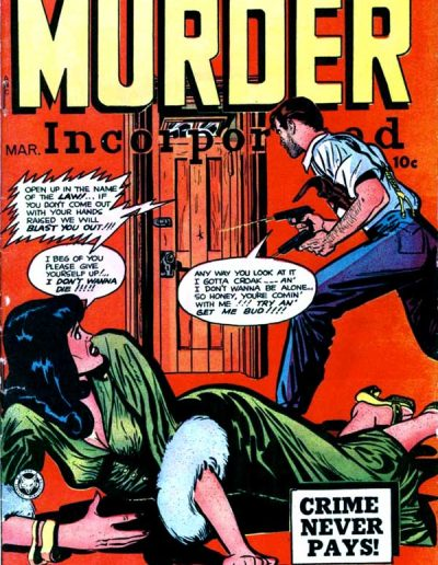 Murder Incorporated #9 - March 1949