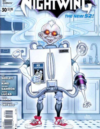 Nightwing (Vol 3) #30 Mad Magazine Variant - July 2014