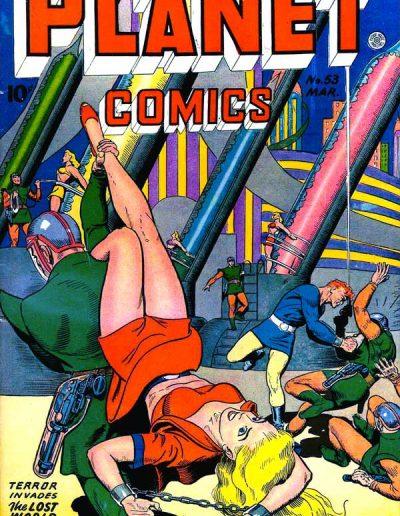 Planet Comics #53 - March 1948