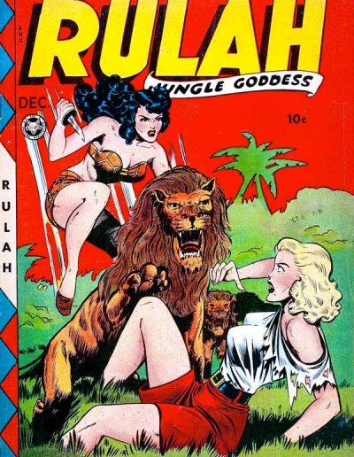 Rulah Jungle Goddess #21 - December 1948