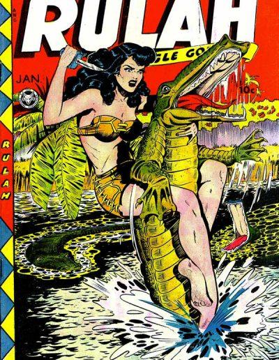 Rulah Jungle Goddess #22 - January 1949