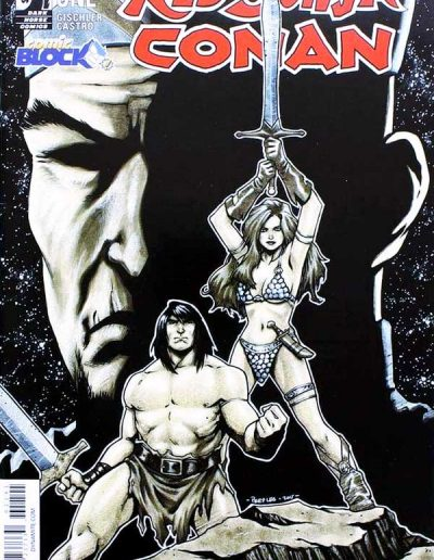Red Sonja Conan #1 (Comic Block Variant) - August 2015