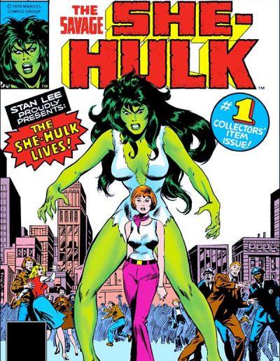 The Savage She-Hulk #1 - February 1980