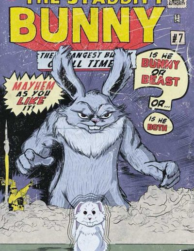 Stabbity Bunny (Vol 2) #7 (Martin Dunn Homage Variant) - September 2018