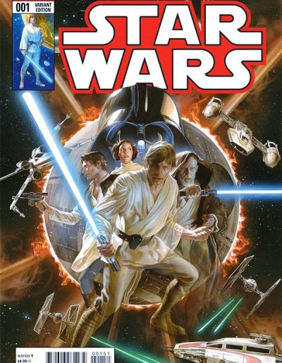 Star Wars (Vol 3) #1 (Alex Ross Variant) - March 2015