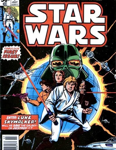 Star Wars #1 (2nd Printing A) - July 1977