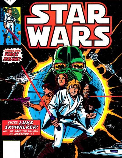 Star Wars #1 (2nd Printing B) - July 1977