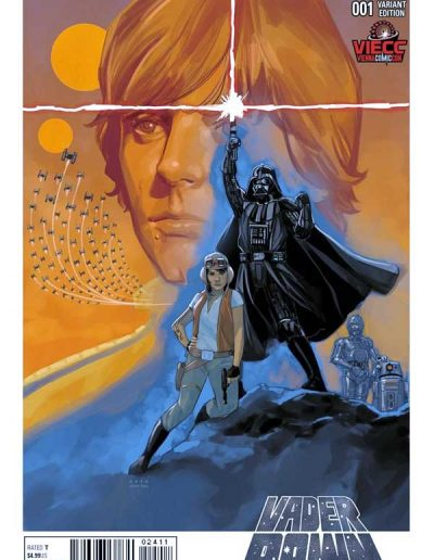 Star Wars: Vader Down #1 (Vienna Comic Con Color Variant) - January 2016
