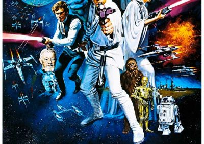 Star Wars (Movie Poster 2) Homage Covers