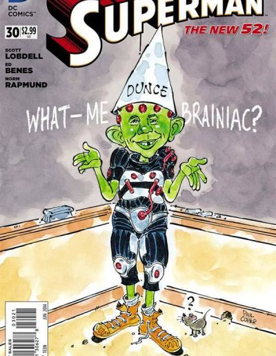 Superman (Vol 3) #30 Mad Magazine Variant - June 2014