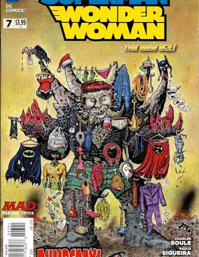 Superman/Wonder Woman #7 Mad Magazine Variant - June 2014