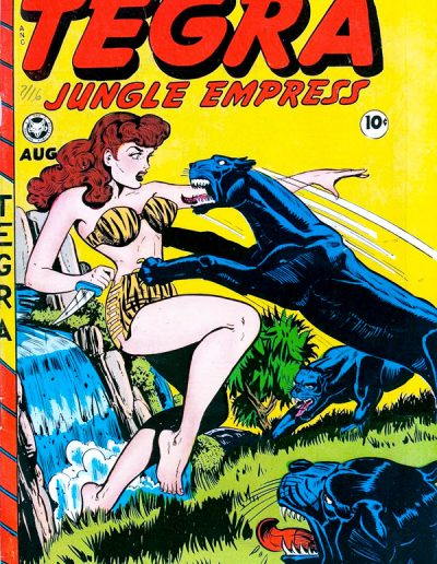 Tegra Jungle Empress #1 - August 1948