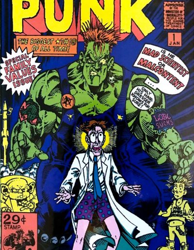 The Incredible Punk #1 - January 1993