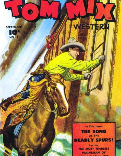 Tom Mix Western #9 - September 1948