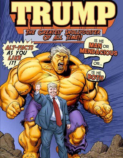 The Tremendous Trump #1 - 2017