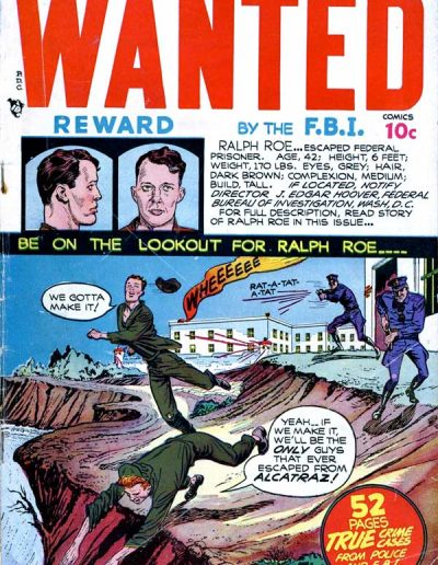 Wanted Comics #12 - March 1948