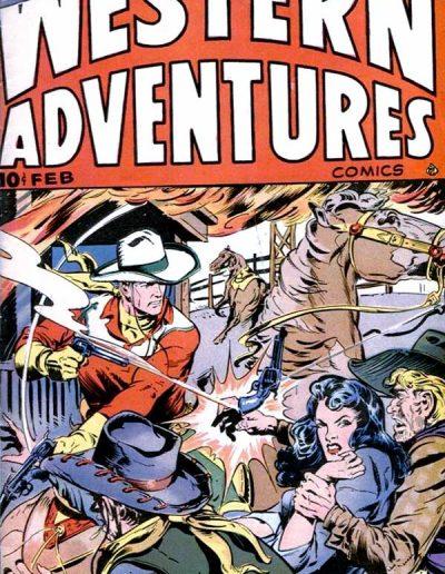 Western Adventures #3 - February 1949