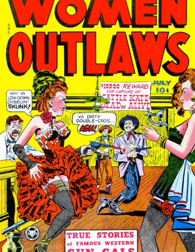 Women Outlaws #1 - July 1948