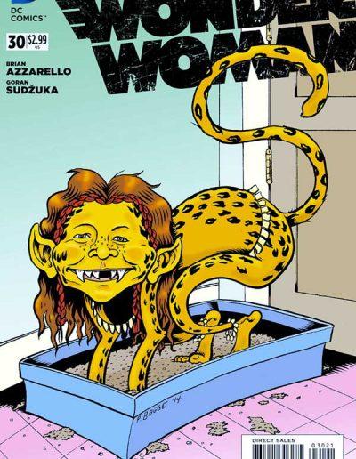 Wonder Woman (Vol 4) #30 Mad Magazine Variant - June 2014