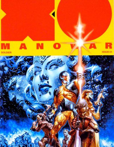 X-O Manowar (Vol 4) #1 (La Rosa 2nd Printing Variant) - March 2017