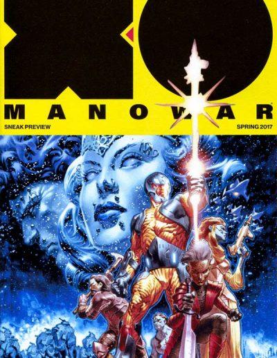 X-O Manowar (Vol 4) #1 (La Rosa Sneak Preview Variant) - March 2017