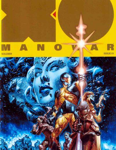 X-O Manowar (Vol 4) #1 (La Rosa Gold Variant) - March 2017