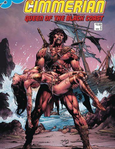 Cimmerian Queen of the Black Coast #2 - April 2020